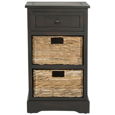 Edmonton Storage End Table Color: Brown