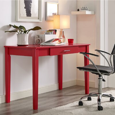 Crouseville Writing Desk Finish: Red