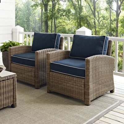 Middlesex 2 Deep Seating Chairs with Cushion