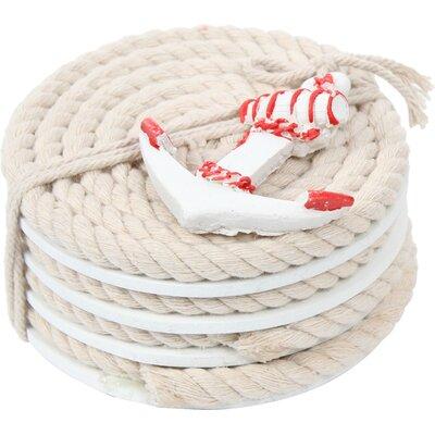 Pelican Bay Nautical Rope Coaster