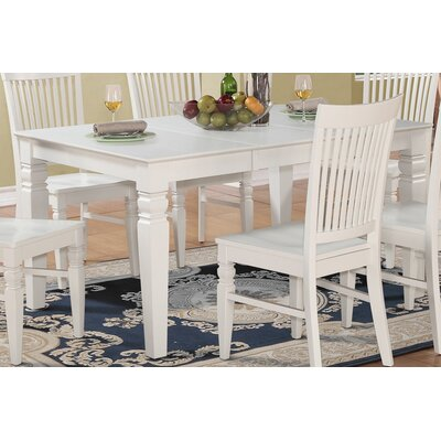 Pennington Dining Table Finish: Linen White