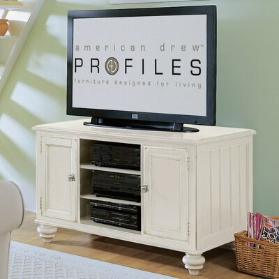 Tyrrell 48 TV Stand Color: Buttermilk