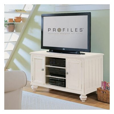 Wheelock 48 TV Stand Color: Buttermilk