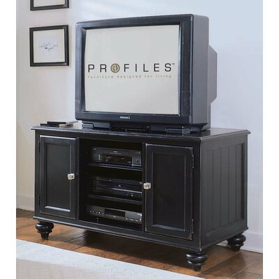 Wheelock 48 TV Stand Color: Black