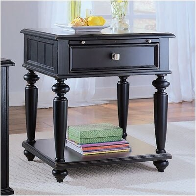 Wheelock 1 Drawer Wood Nightstand