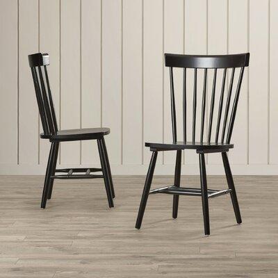 Benton Side Chair Finish: Black