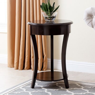 Oliver End Table Color: Espresso