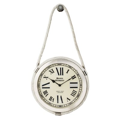 17 Brass Rope Clock