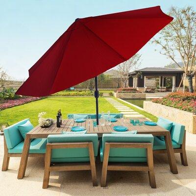 10 Market Umbrella Color: Red