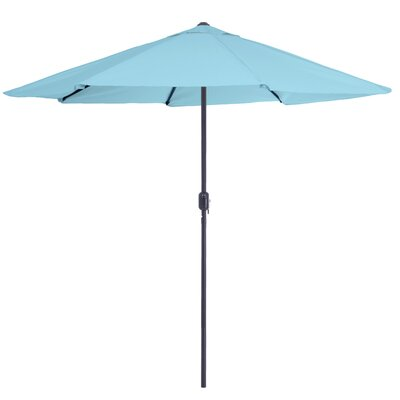 Kelton 9 Market Umbrella Color: Blue