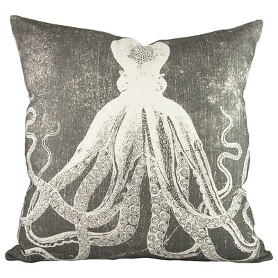 Southmont Cotton Throw Pillow Color: Gray