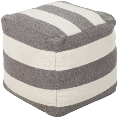 Littleton Pouf Upholstery: Gray