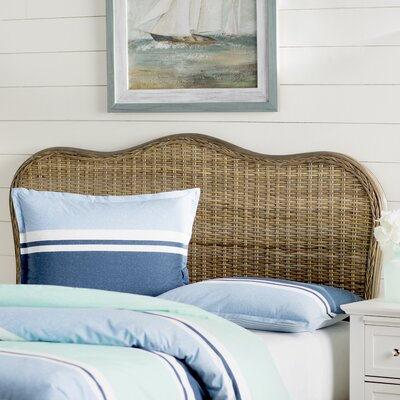 Bendel Panel Headboard Size: Twin, Color: Gray