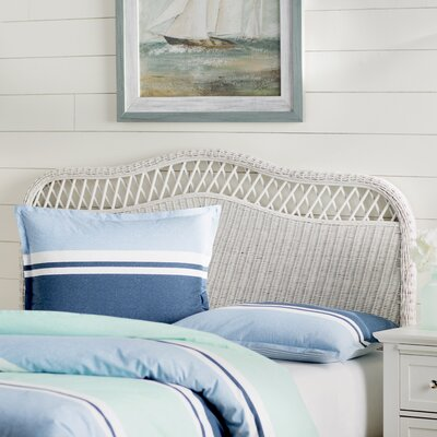 Gordon Panel Headboard Size: Full, Color: White
