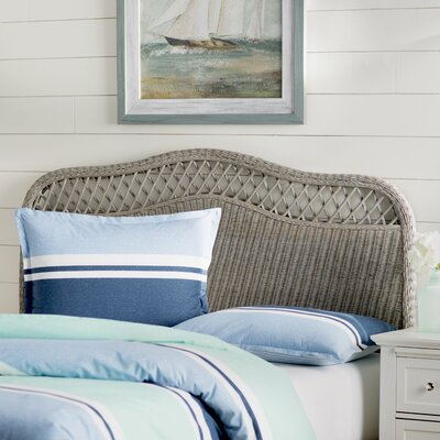 Gordon Panel Headboard Size: Full, Color: Antique Gray