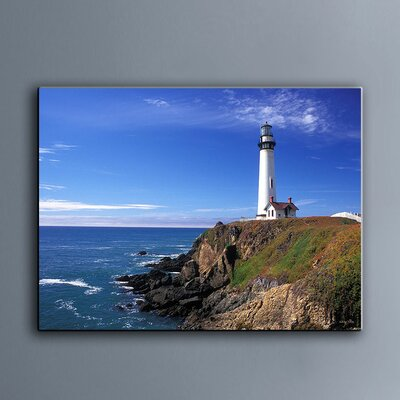 'Pigeon Point Lighthouse' Photographic Print on Canvas