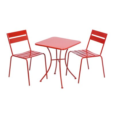 Breakwater Bay Sandown 3 Piece Bistro Set
