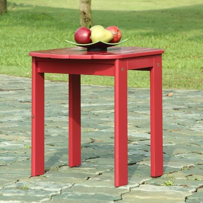 Lighthouse Cove Side Table Finish: Red