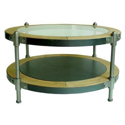 Pembrooke Coffee Table with Magazine Rack