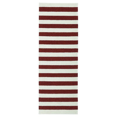 Suffield Red Indoor/Outdoor Area Rug Rug Size: Runner 2' x 6'
