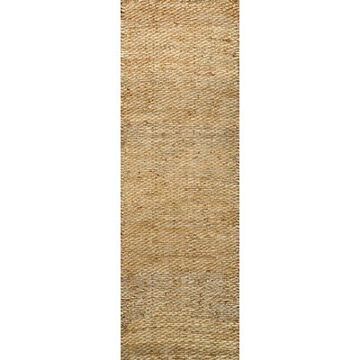 Coxswain Natural Area Rug Rug Size: Runner 2'6