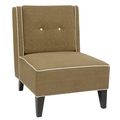 Elderfield Slipper Chair Color: Seaweed