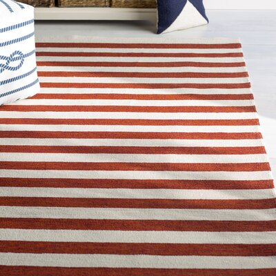 Suffield Red Indoor/Outdoor Area Rug Rug Size: Rectangle 4 x 6
