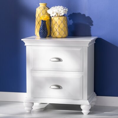 Neponset 2 Drawer Nightstand by Simmons Casegoods
