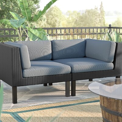 Breakwater Bay Zoar 2 Piece Deep Seating Group with Cushions