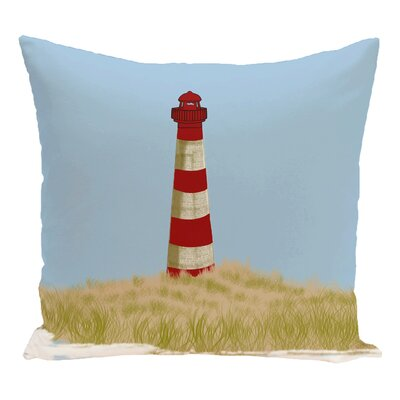 Hancock Sea Pines Geometric Print Outdoor Throw Pillow Size: 18 H x 18 W