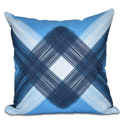 Hancock String Art Geometric Print Outdoor Throw Pillow Size: 18