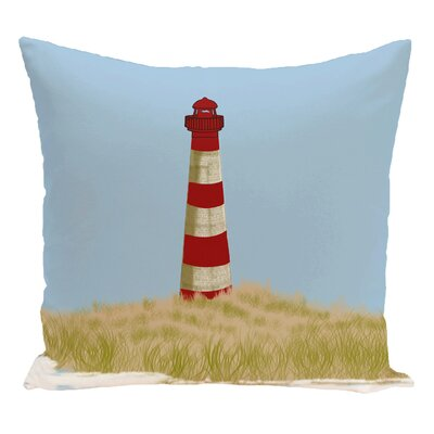 Hancock Sea Pines Geometric Print Throw Pillow Size: 18 H x 18 W