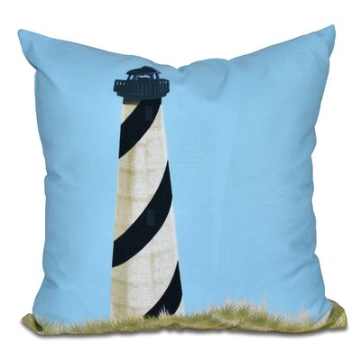 Hancock Outer Banks Geometric Print Outdoor Throw Pillow Size: 18 H x 18 W