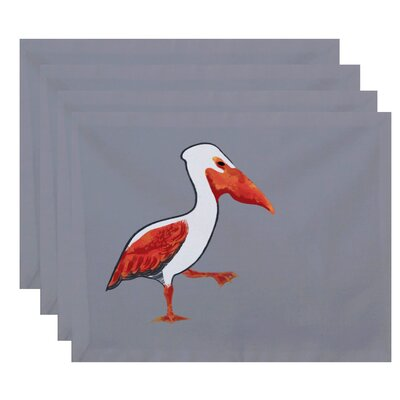 Dryden Pelican March Animal Print Placemat