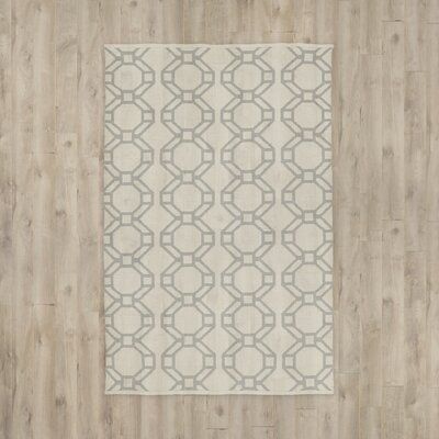 Fowler Cream/Gray Indoor/Outdoor Area Rug Rug Size: 3 x 5