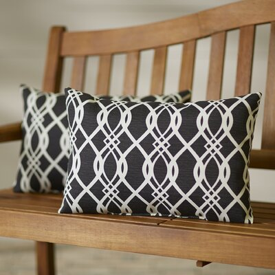 Edgecomb Outdoor Lumbar Pillow Color: Hedda Tuxedo