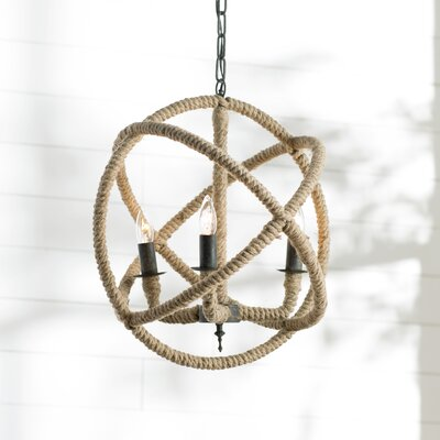 Dazelle 3-Light Globe Pendant