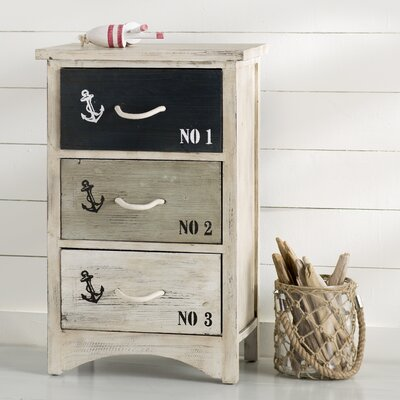 Halyard Nautica 3 Drawer Chest