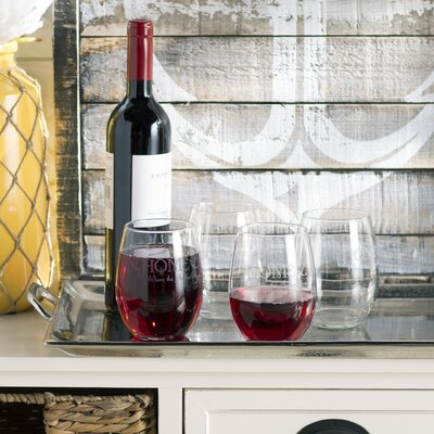 Westport Where the Anchor Drops Stemless 21 oz. Wine Glass