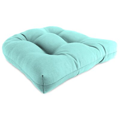 Indoor/Outdoor Chair Cushion Fabric: Sunburst Pool