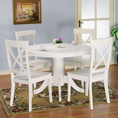 Landlith Dining Table Top Table Finish White