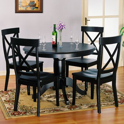 Landlith Dining Table Top Table Finish Black