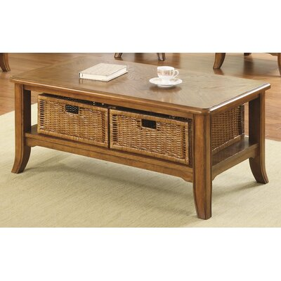 Jamesville Coffee Table Finish: Medium Brown