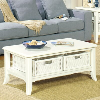 Jamesville Coffee Table Finish: Antique White