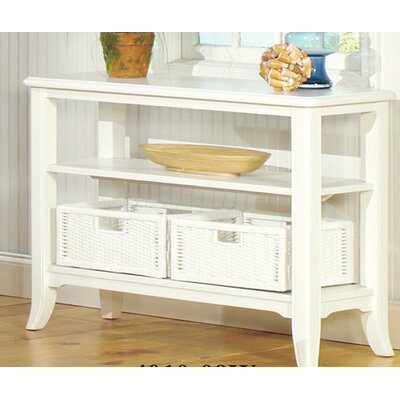 Brogden Console Table Finish: Antique White