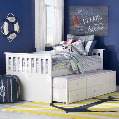 Rosina Twin Captain Bed with Storage