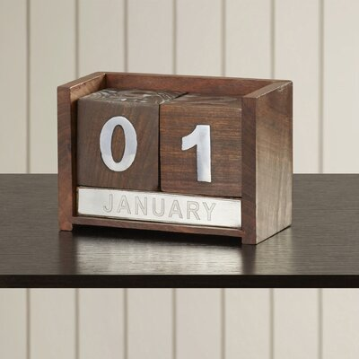 Decorative Wood Calendar