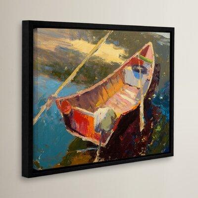 Italian Wayfarer Framed Painting Print Size: 14