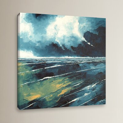 Dark Skies Painting Print on Wrapped Canvas