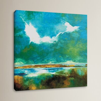 Seascape II Painting Print on Wrapped Canvas